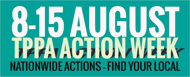 week of action logo