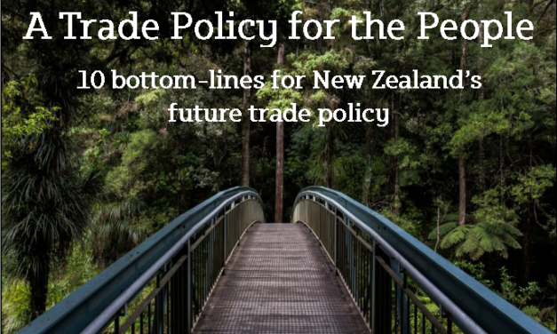 Political parties' responses to 10 bottom lines for future trade policy