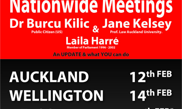 Video of TPPA-11 – Auckland Let's Not Do This? Public Meeting