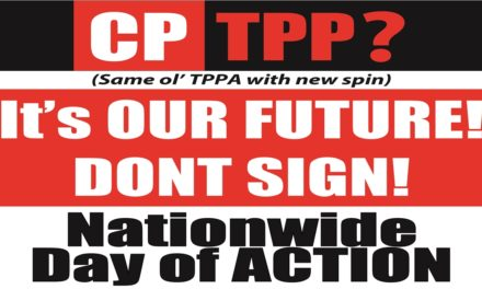 Nationwide Day of Action against the TPPA-11