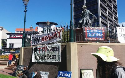 Speeches from the TPPA-11 – Don't Sign! Dunedin Rally 04/03/2018