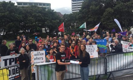 Parliamentary petition for democratic overhaul of TPPA process – Oliver Hailes